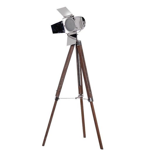 Spotlight floor lamp large tripod spotlight graham brown - Tripod spotlight lamp ...