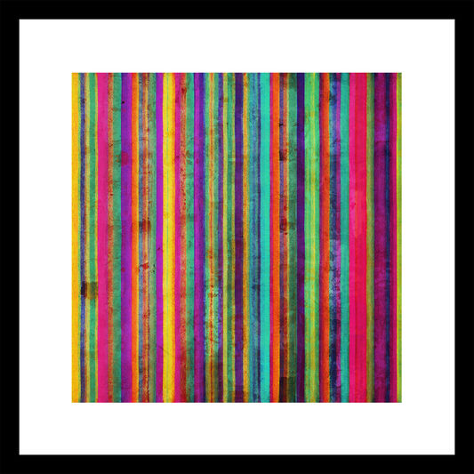 Neon Stripe Wall Art, , large