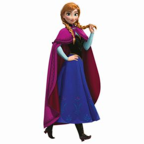 Frozen Anna Lifesize Sticker, , large