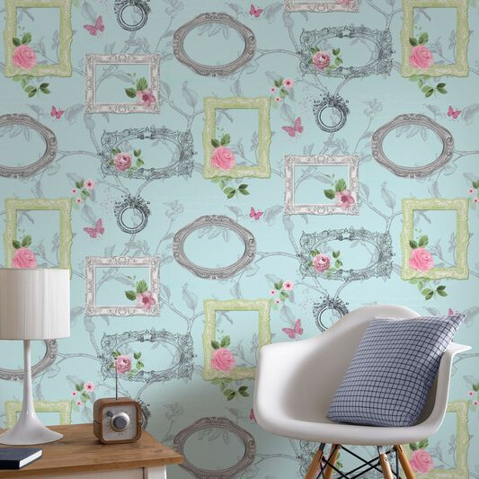 Fresco Emily Wallpaper, , large