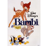 Bambi 1982 Bedruckter Canvas, , large