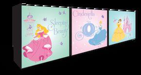 Prinzessin Packung mit 3 Kartonkunst, , large