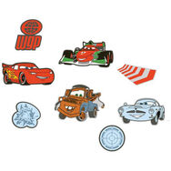 Cars 2 Mini Foam Elements 24pcs, , large