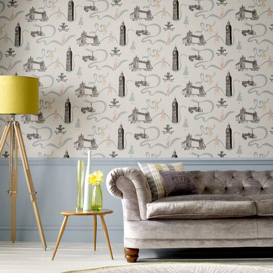 Jubilee Design Wallpaper, , large