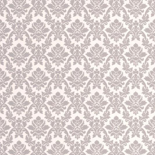Damask Grey Wallpaper, , large ... - Damask Grey Wallpaper - GrahamBrownAU