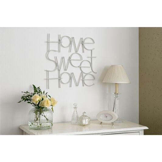 Wire Wall Art Home Decor Uk ~ Sweet home metal wall art grahambrownuk