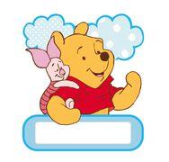Winnie the Pooh Foam Door Name Plate, , large