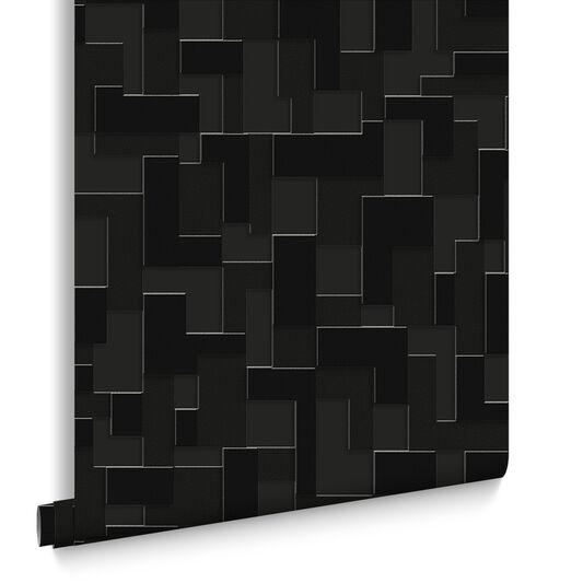 Checker Black Wallpaper, , large