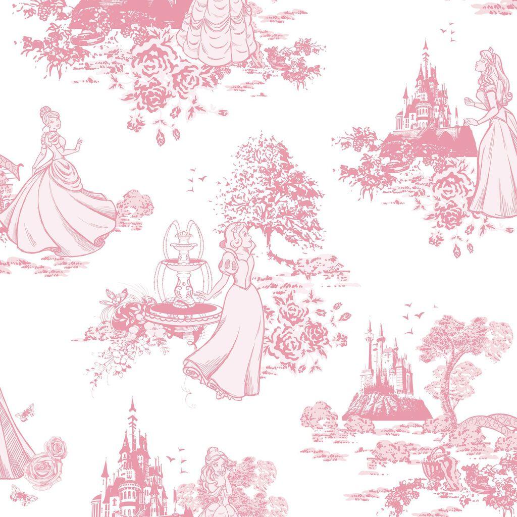 Pink Wallpaper Princess Wallpaper Graham Brown