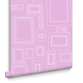 Frames Pink Wallpaper, , large