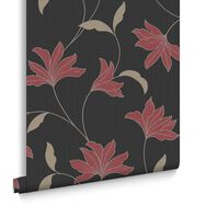 Alannah Black and Red Wallpaper, , large