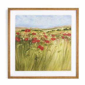 Poppy Meadow Framed Print, , large