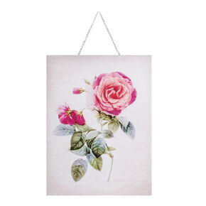 Botanical Single Bloom Printed Canvas, , large