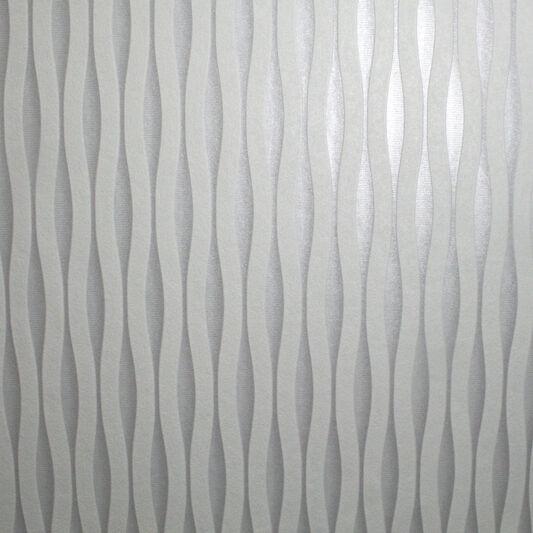 Lucid white and silver wallpaper grahambrownus for Silver wallpaper for walls