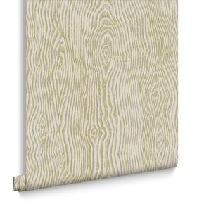 Cypress Beige & Gold Behang, , large