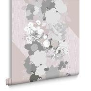 Joy Pink Wallpaper, , large
