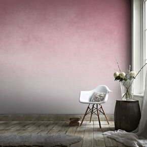 Ink Blush Pink Mural, , large