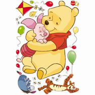Sticker maxi Winnie l'Ourson, , large