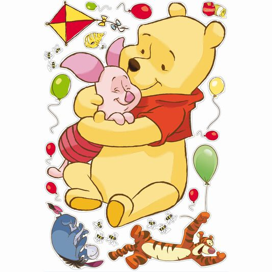 Winnie the Pooh Maxi Sticker, , large