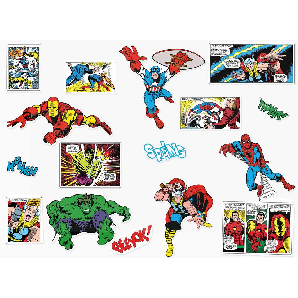 marvel comics wall stickers grahambrownuk comic strip wall stickers wall art kids