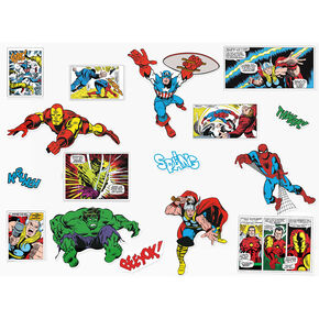 Stickers Marvel pour murs, , large