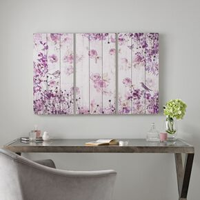 Purple And Gray Wall Art floral wall art | floral canvas & framed prints | flower wall decor