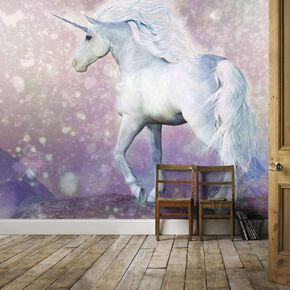 Magical Unicorn Mural, , large