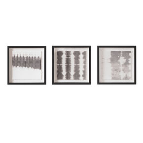 Monochrome Tie Dye Framed Prints, , large