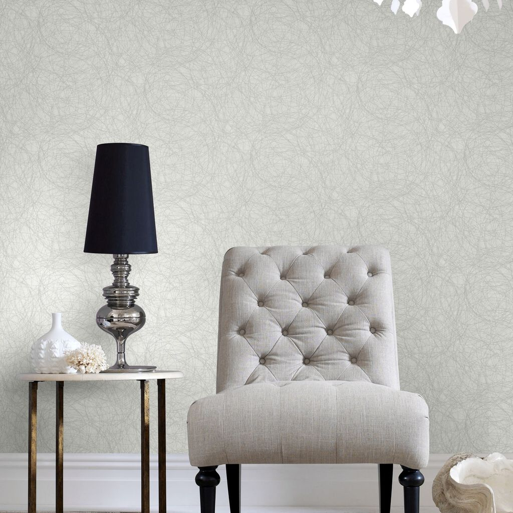 twist white and silver wallpaper graham brown. Black Bedroom Furniture Sets. Home Design Ideas