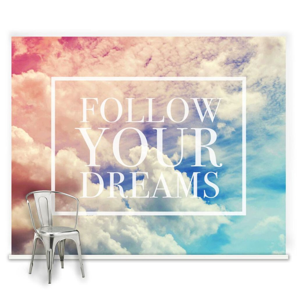 childrens wall murals kids wallpaper mural graham brown follow your dreams mural