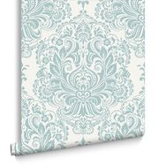 Melody Duck Egg Wallpaper, , large