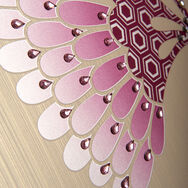 Teardrop shaped self adhesive decorative jewels, , large