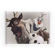 Frozen - Olaf and Sven Printed Canvas, , large