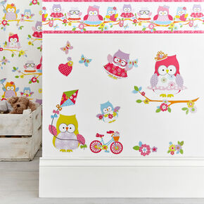 Olive le hibou Stickers, , large