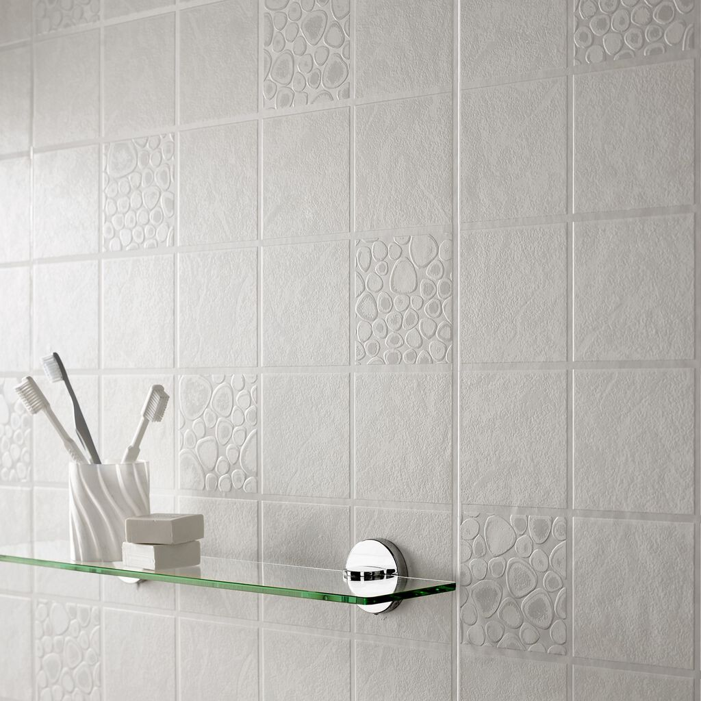 Pebbles tile graham brown for 3d wallpaper for bathroom