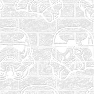 Star Wars Storm Trooper Paintable Wallpaper, , large