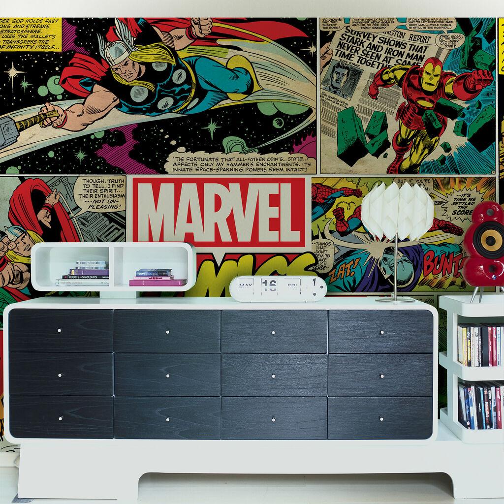 Marvel mural grahambrownrow for Digital wall mural