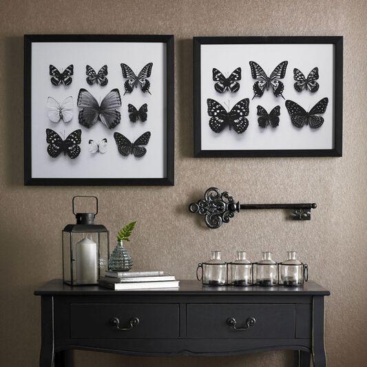 Botanical Butterflies Framed Print, , large