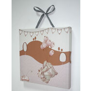 Graham & Brown Eleflump Printed Canvas - 30x30cm , , large