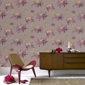 Fabulous Plum Wallpaper, , large