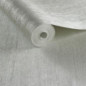 Water Silk Plain Light Silver Wallpaper, , large