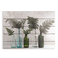 Botanical Bottles Print On Wood, , large