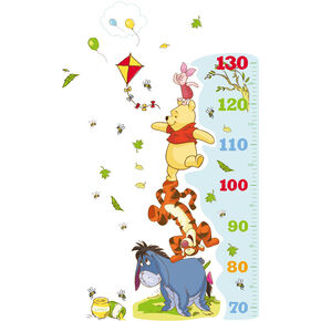 Winnie the Pooh Growth Chart Sticker, , large