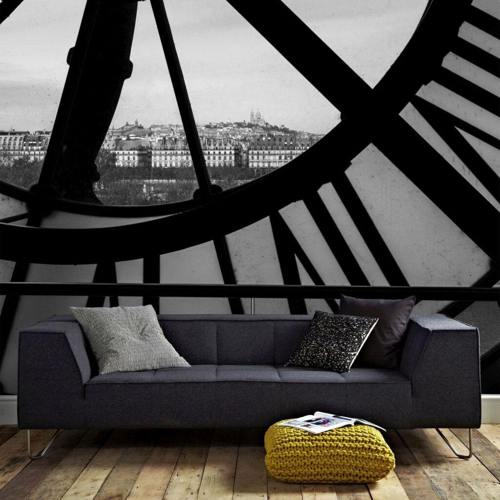 Orsay Clock Mural Grahambrownuk