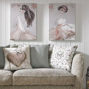 Grace bedrukt canvas, , large