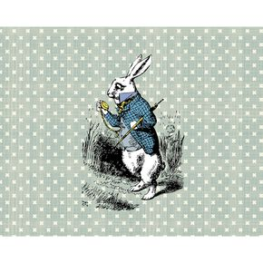 Fotobehang White Rabbit, , large