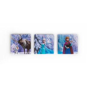 Eiskönigin Szene Kartonkunst 3-teiliges Set, , large