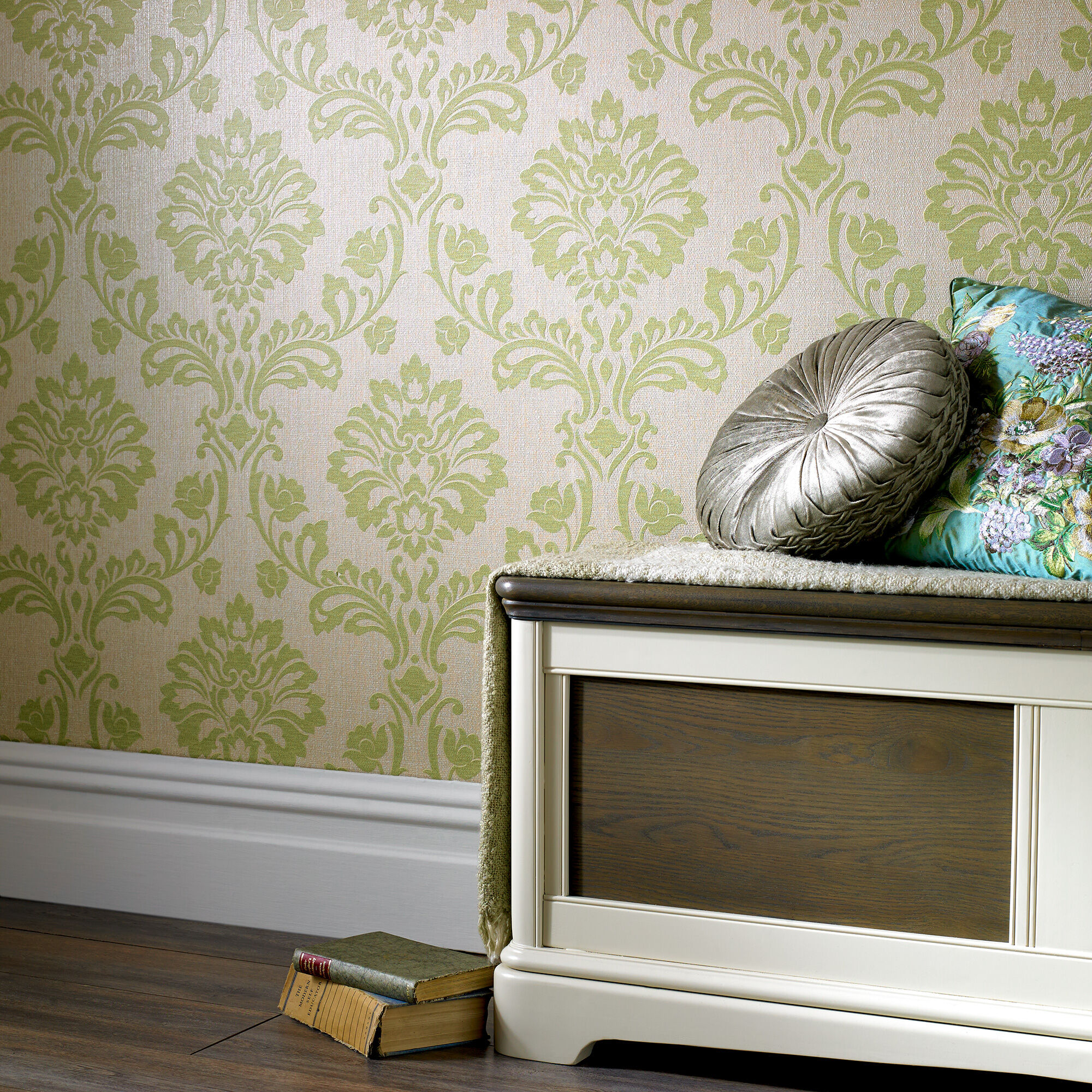 Green Wallpaper Designs For Living Room Images Galleries With A Bite