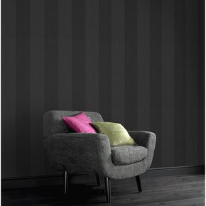Artisan Stripe Glitter Wallpaper, , large