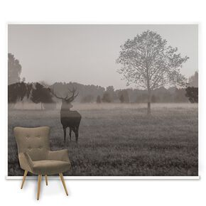 Stag In The Woods Mural, , large